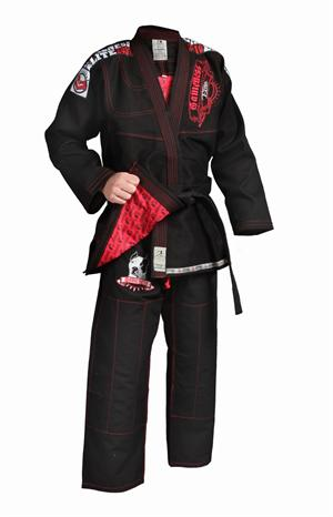 Gameness Elite BJJ Black Gi